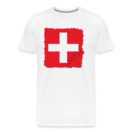 Schweiz 21.1 - Männer Premium T-Shirt