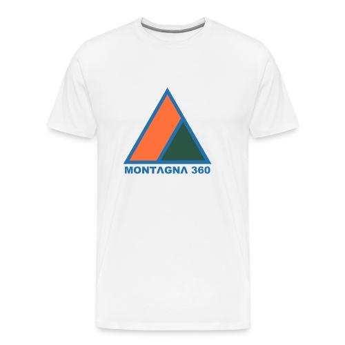 MONTAGNA 360 BLUE - Maglietta Premium da uomo