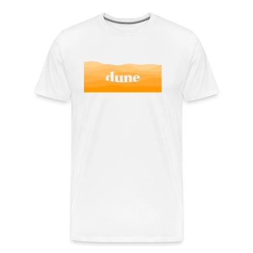 DUNE Dune del deserto minimal onde futuristiche - Maglietta Premium da uomo