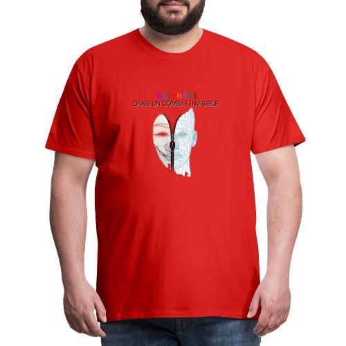 Guerrière dans un combat invisible 02 - T-shirt Premium Homme