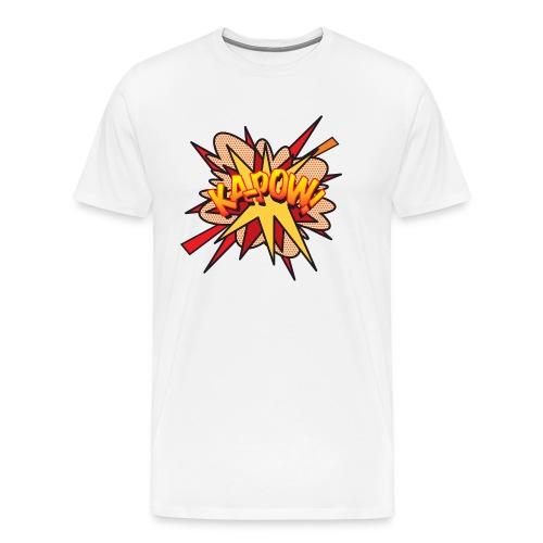 Comic Book Pop Art KA-POW - Men's Premium T-Shirt