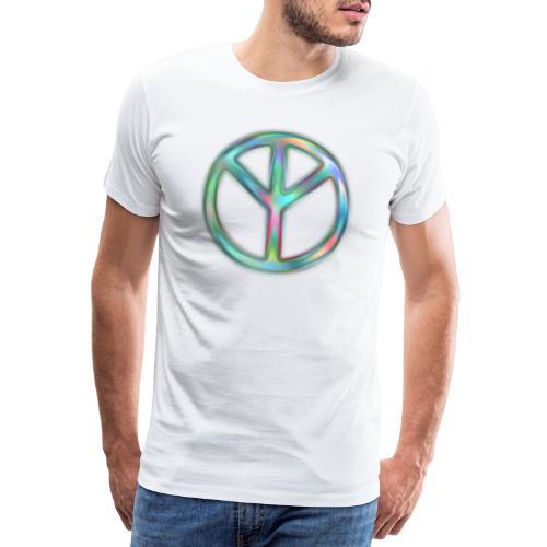 The Real Peace Sign - das echte Friedenszeichen - Männer Premium T-Shirt