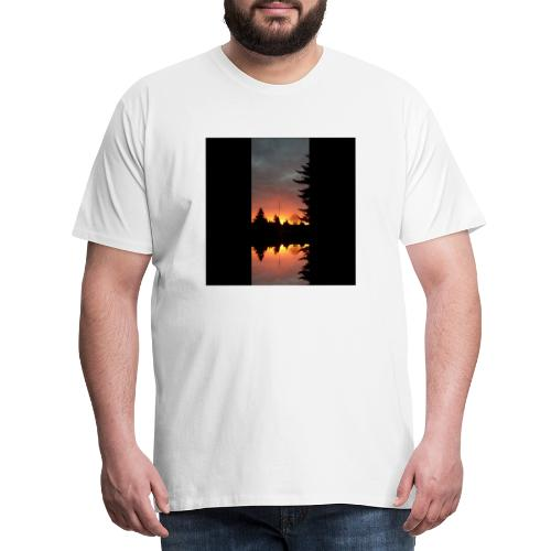 Morgenrotdrama Small - Männer Premium T-Shirt
