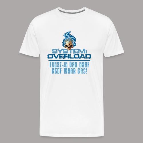 System Overload Light Blue - Mannen Premium T-shirt
