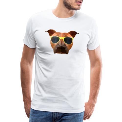 Amy mit Sonnenbrille - Männer Premium T-Shirt