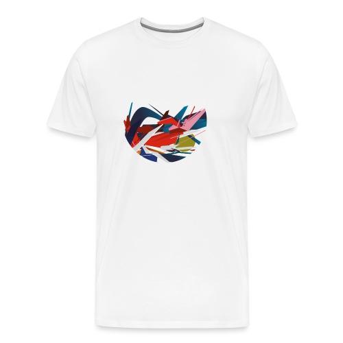 rond graffiti 4000px - T-shirt Premium Homme