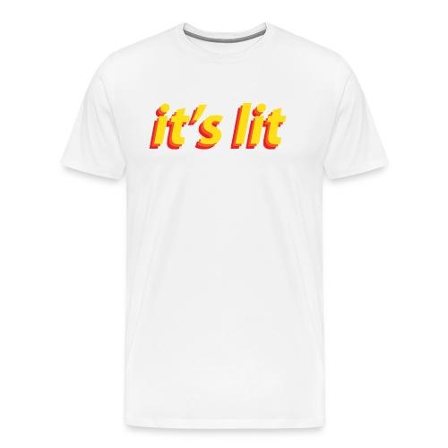 it-s_lit-png - Camiseta premium hombre