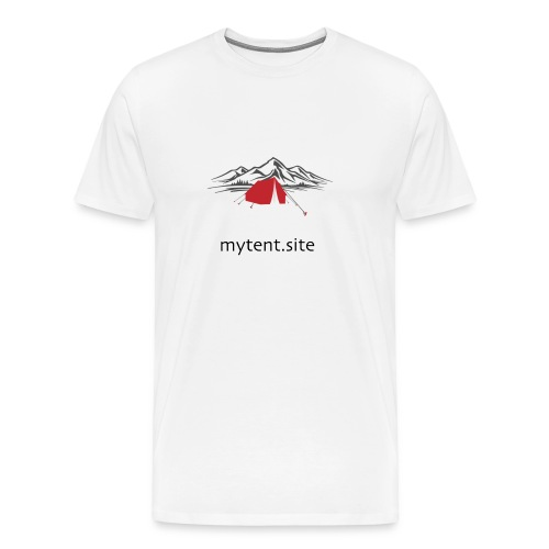 mytentsite - Men's Premium T-Shirt