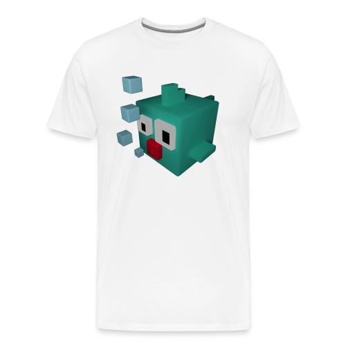 Süsser kleiner Würfelfisch - Männer Premium T-Shirt