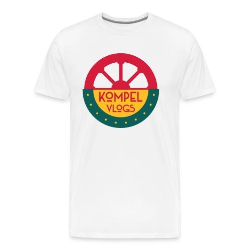 Kompel Vlogs Logo - Mannen Premium T-shirt