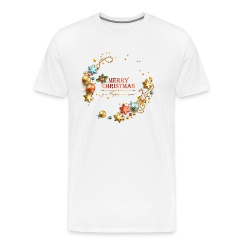 navidad - Camiseta premium hombre