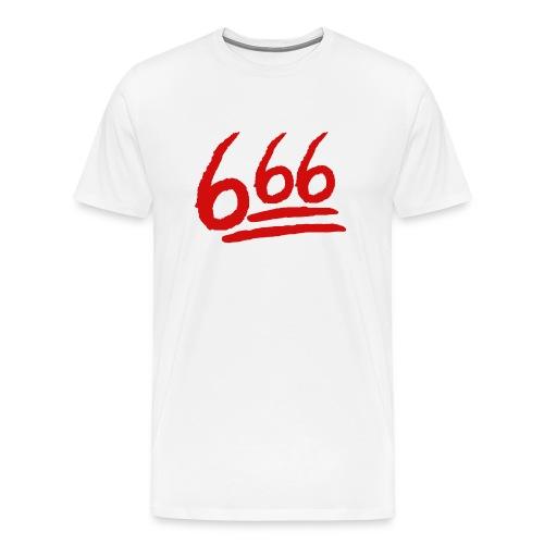 666 playera - Camiseta premium hombre