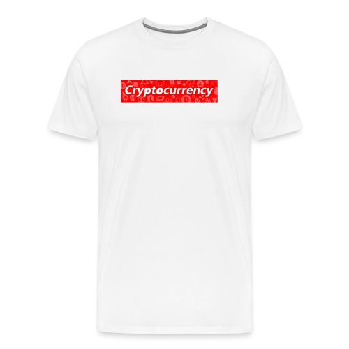 Cryptocurrency - Crypto Currency Logo Design - Men's Premium T-Shirt