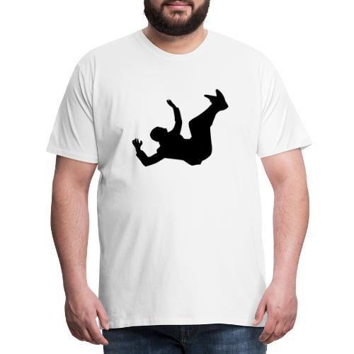 Fallender Mann - Männer Premium T-Shirt