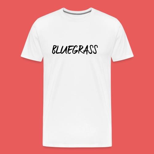 BLUEGRASS - Mannen Premium T-shirt