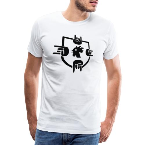 logosmall - Männer Premium T-Shirt