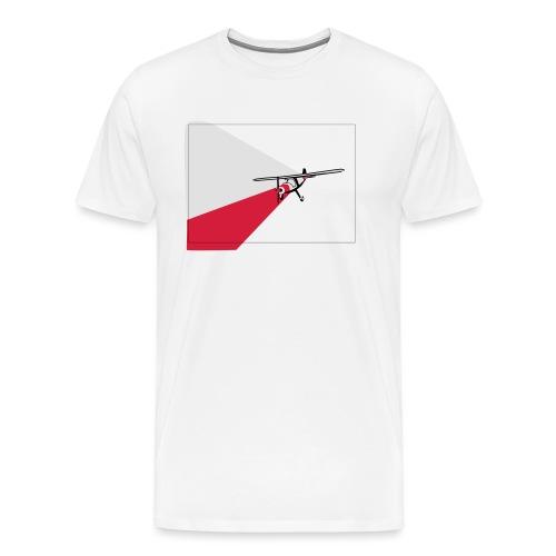 AVION TRICOLOR - Camiseta premium hombre