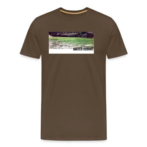 Think green - Männer Premium T-Shirt