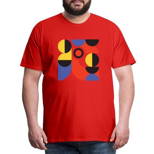 Bauhaus no 1 - Herre premium T-shirt