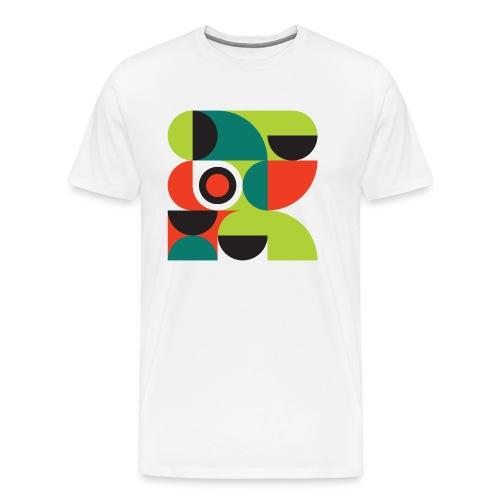 Bauhaus no 2 - Herre premium T-shirt