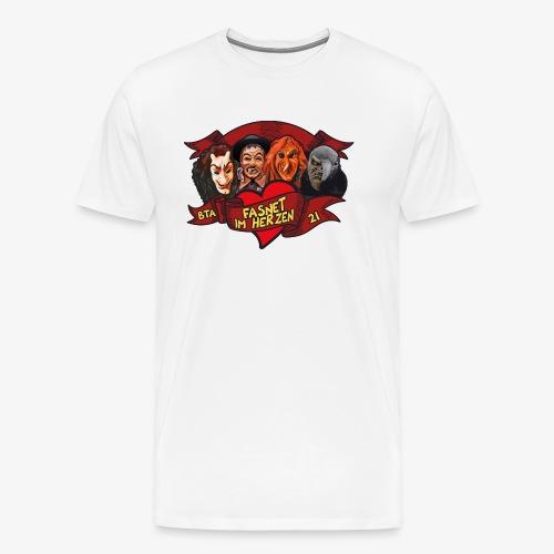 Fasnet im Herzen - Männer Premium T-Shirt