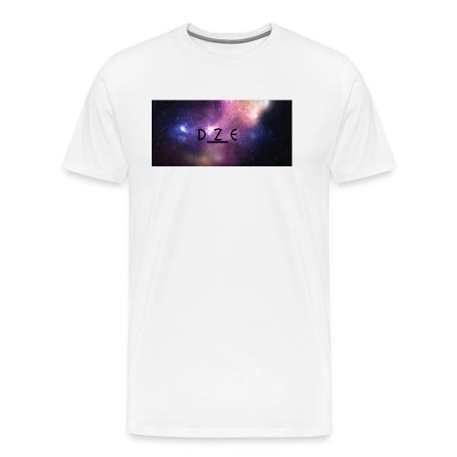 DZE_LOGO_SPACY_1-JPG - Herre premium T-shirt