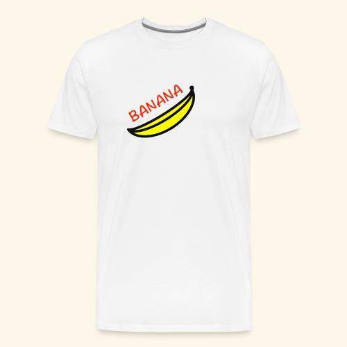 banana - Maglietta Premium da uomo
