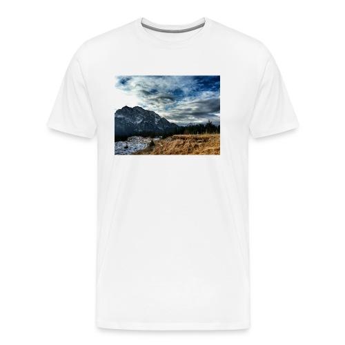 Wolkenband - Männer Premium T-Shirt