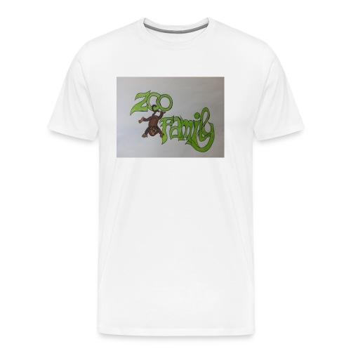 Zoo Family Bozza - Maglietta Premium da uomo