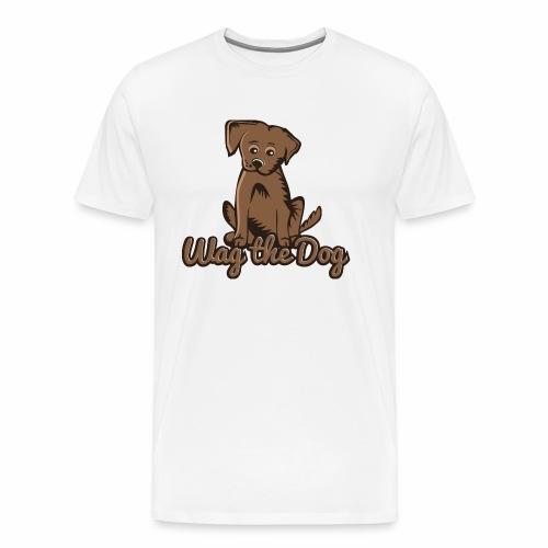 wag the dog - Männer Premium T-Shirt