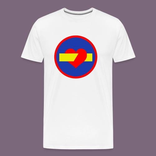 rakkauden ajosuunta - Miesten premium t-paita