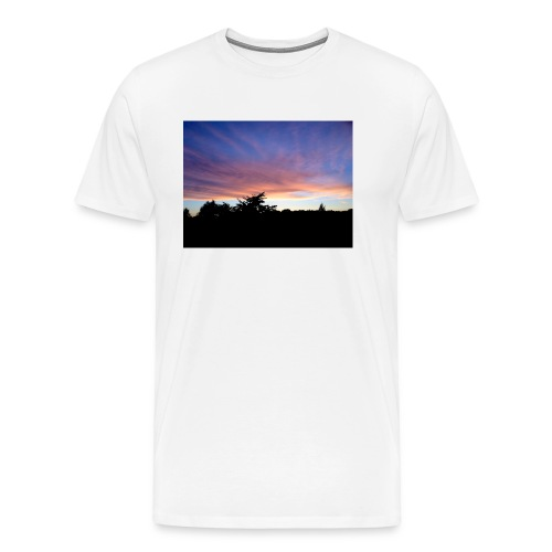 Sunset - Herre premium T-shirt