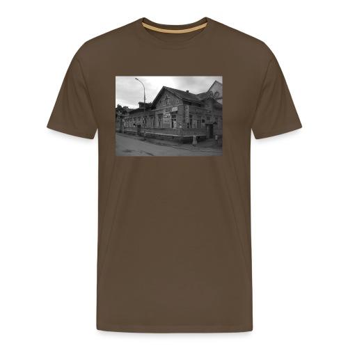 Aika on pysähtynyt Sortavalassa - Miesten premium t-paita