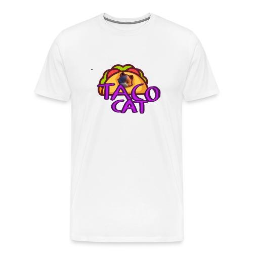 TACO CAT - Premium-T-shirt herr