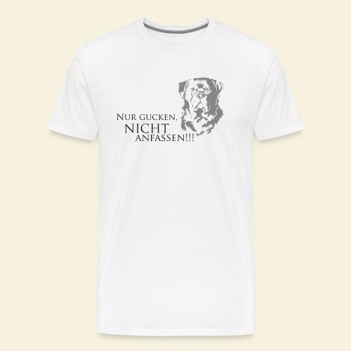 Nur gucken, nicht anfassen - Männer Premium T-Shirt