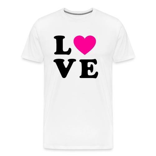Love t-shirt - T-shirt Premium Homme