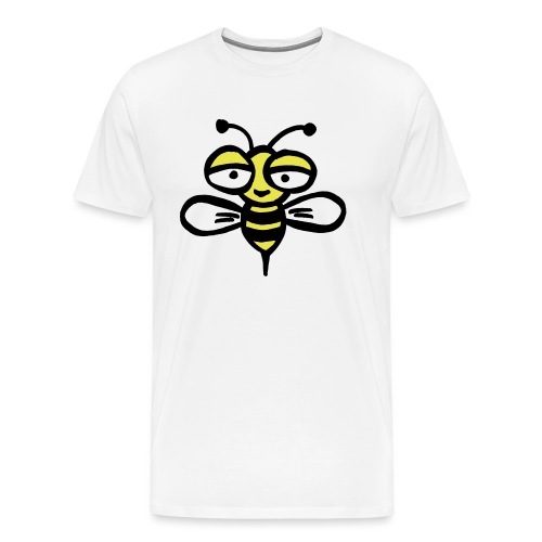 Be happy as a bee or wasp - Men's Premium T-Shirt