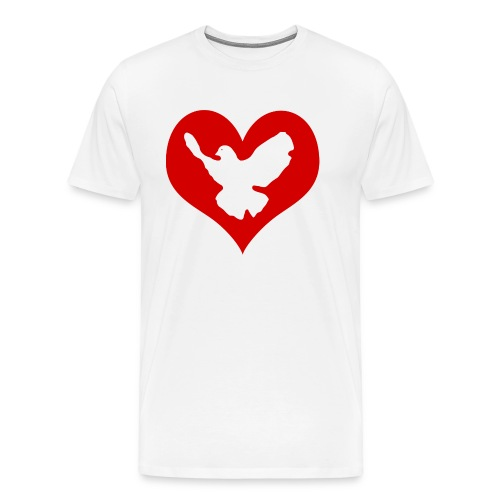 Peace & Love - Männer Premium T-Shirt