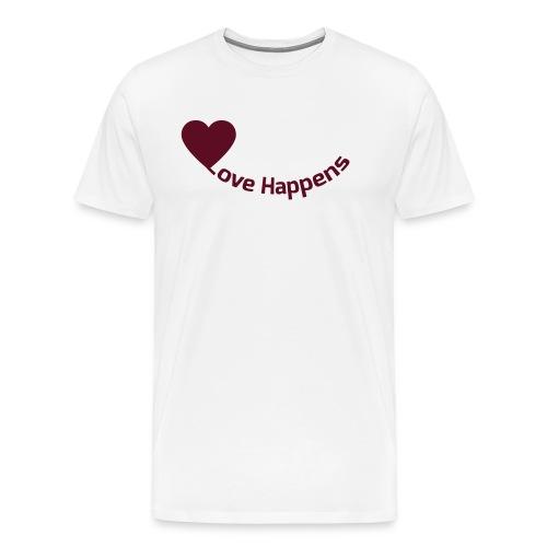 Love-Happens - Men's Premium T-Shirt