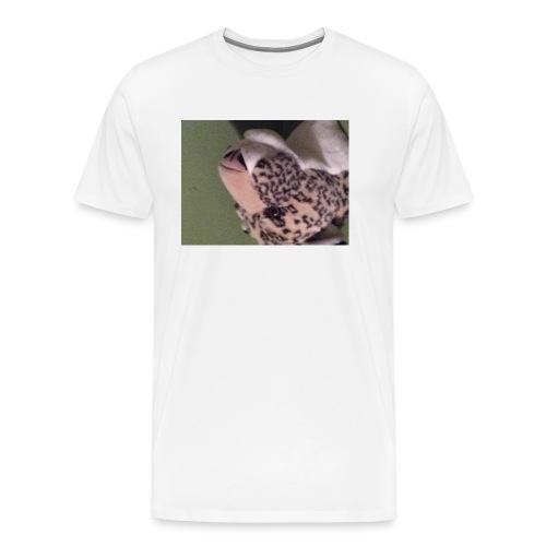 Opdekop tijger - Mannen Premium T-shirt