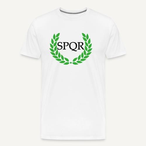 spqr (wg. http://upload.wikimedia.org/wikipedia/ - Koszulka męska Premium