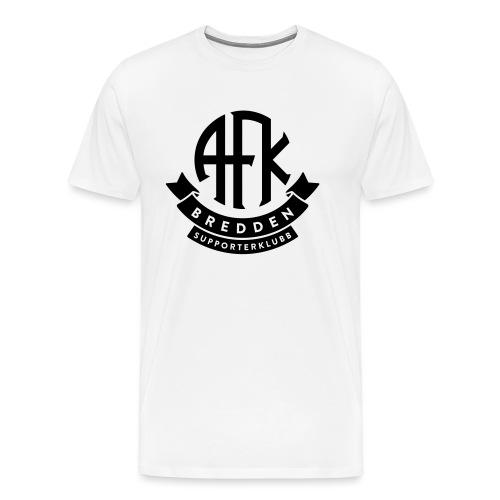 bredden-logo-1farge - Premium T-skjorte for menn