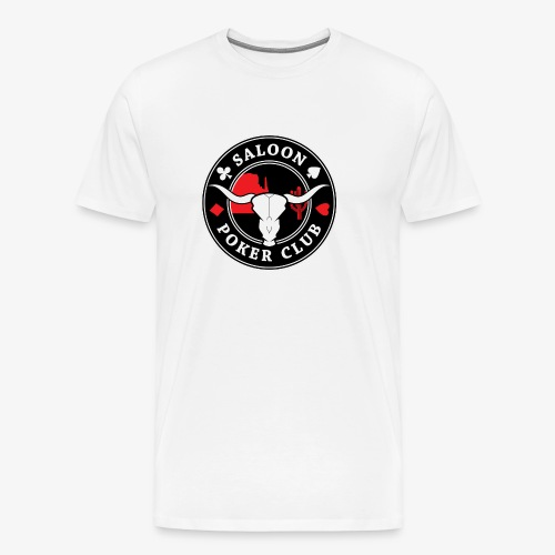 saloon poker transparent png - T-shirt Premium Homme