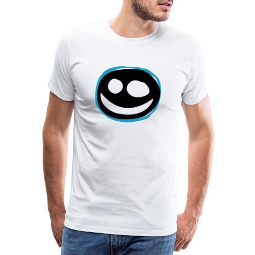 Black Smile - Maglietta Premium da uomo