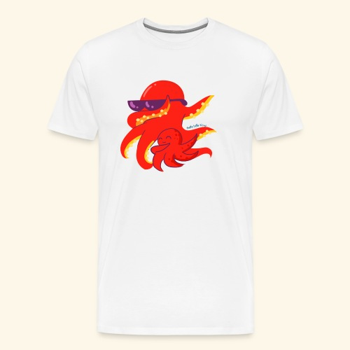 Dabbing Kraken Dab Dance and baby - Camiseta premium hombre