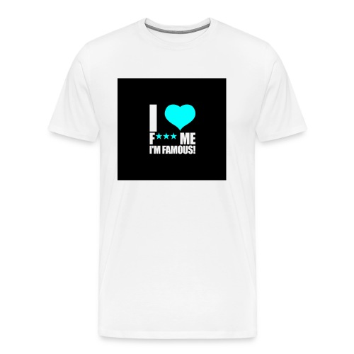 I Love FMIF Badge - T-shirt Premium Homme