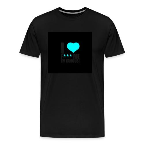 I Love FMIF Badge - T-shirt Premium Homme