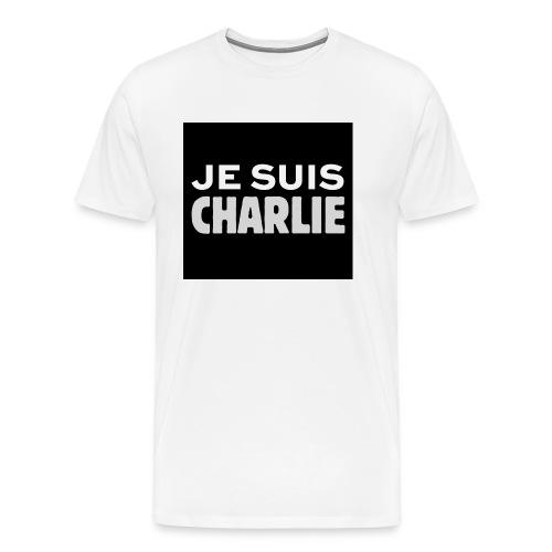 Je_suis_Charlie-svg-png - Mannen Premium T-shirt