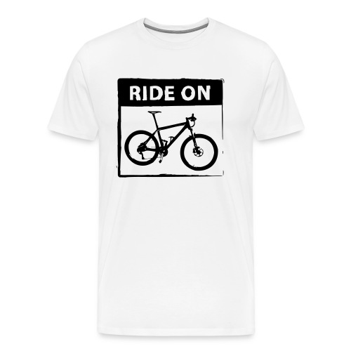 Ride On MTB 1 Color - Männer Premium T-Shirt