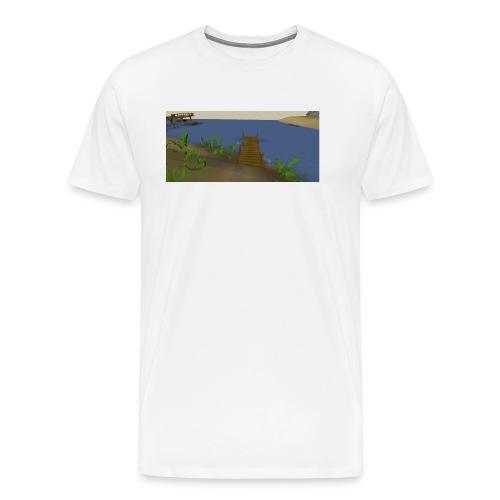 Fishing spot - Mannen Premium T-shirt